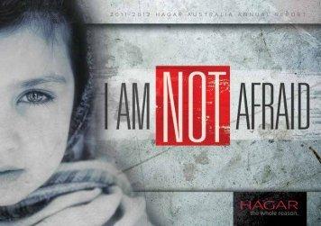 2011-2012 HAGAR AUSTRALIA ANNUAL REPORT - This is Hagar