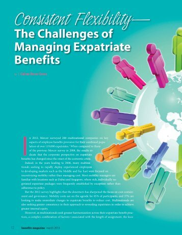 Consistent Flexibility - International Foundation of Employee Benefit ...
