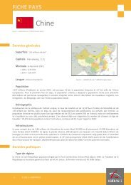 fiche Chine - ILE-DE-FRANCE INTERNATIONAL