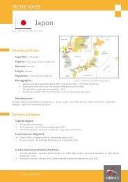 Fiche pays Japon 2012 - Veille info tourisme