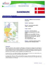 DANEMARK - ILE-DE-FRANCE INTERNATIONAL