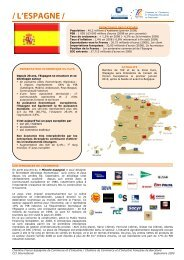 / L'ESPAGNE / - ILE-DE-FRANCE INTERNATIONAL