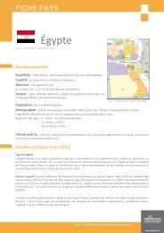 fiche Egypte - ILE-DE-FRANCE INTERNATIONAL
