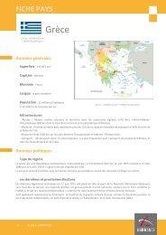 Fiche pays Grèce 2012 - Veille info tourisme