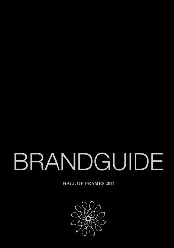 BRANDGUIDE - Hall Of Frames