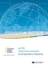 guide TVA européenne en 65 questions / réponses - ILE-DE ...