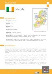 fiche Irlande - ILE-DE-FRANCE INTERNATIONAL