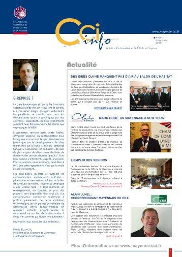 Actualité - (CCI) de la Mayenne