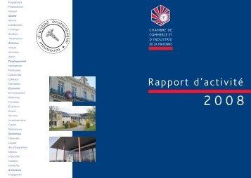 rapport d'activite 2008.pdf - (CCI) de la Mayenne