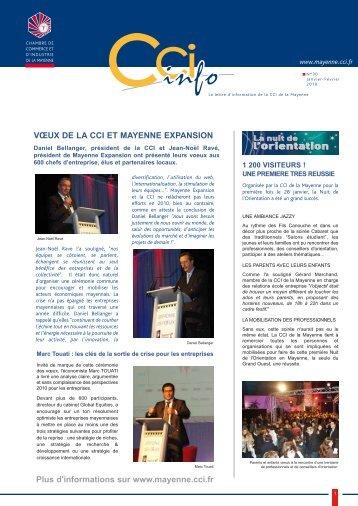 CCI INFO n 30.pdf - (CCI) de la Mayenne