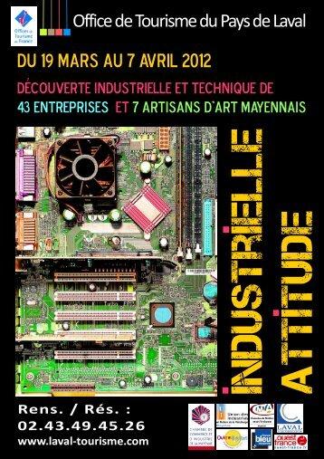 Plaquette Industrielle Attitude 2012 - BD - (CCI) de la Mayenne