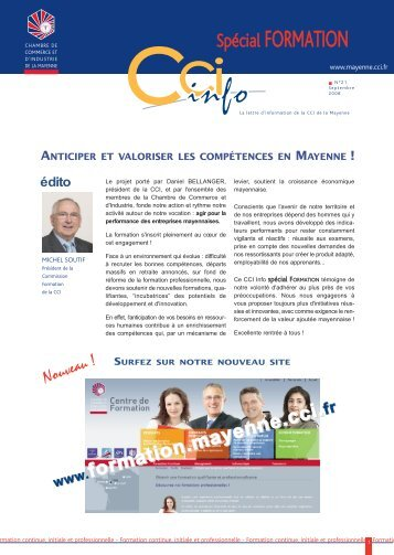 CCI INFO 21 - octobre 08.pdf - (CCI) de la Mayenne