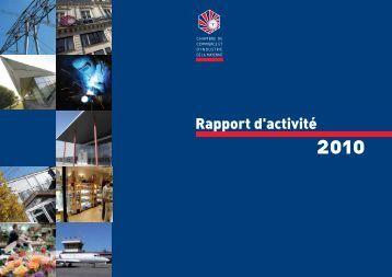 Rapport d'activité 2010.pdf - (CCI) de la Mayenne