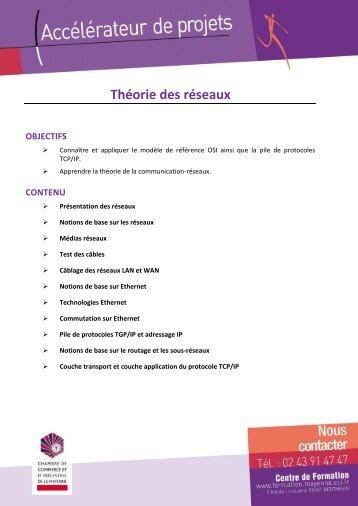 I2 - Théorie des réseaux.pdf - (CCI) de la Mayenne