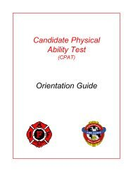 PHYSICAL ABILITY TEST REQUIREMENTS How Will Physical Fitness