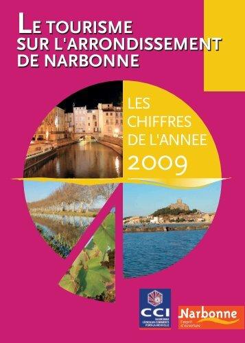 Télécharger les chiffres du tourisme 2009 - (CCI) de Narbonne ...
