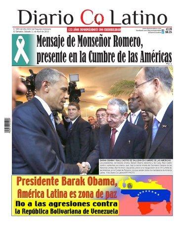 Edición 11 de Abril de 2015