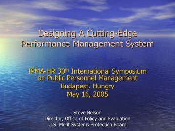 Designing A Cutting-Edge Performance Management System