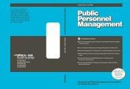 Public Personnel Management Public Personnel Management ...