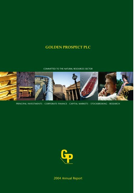 2004 Annual Report - East West Resources plc