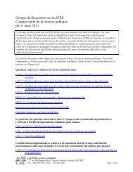IAS 33, Résultat par action/part pour les entités ayant émis des ...