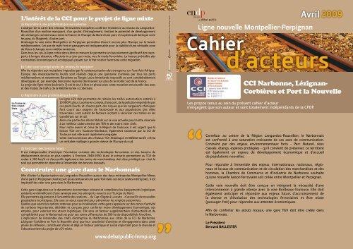 un cahier d'acteur que vous pouvez consulter - (CCI) de Narbonne ...