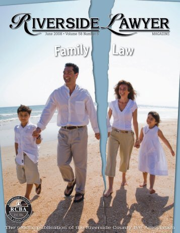Family Family Law - Riverside County Bar Association