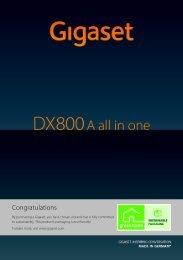 DX800A User Guide - Interquartz