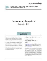 Instruments financiers - Normes d'information financière et de ...