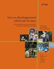 Vers un développement piloté par les pays
