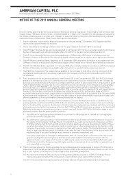 Notice of AGM 2011