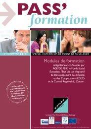 Modules de formation - AGEFOS PME Centre