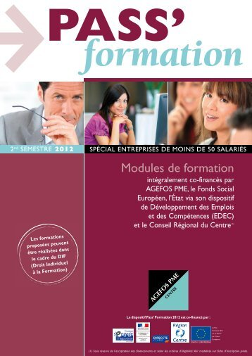 Modules de formation - AGEFOS PME Centre