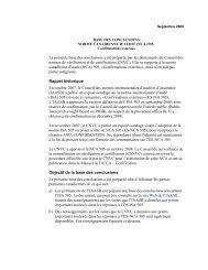 Confirmations externes - Normes d'information financière et de ...