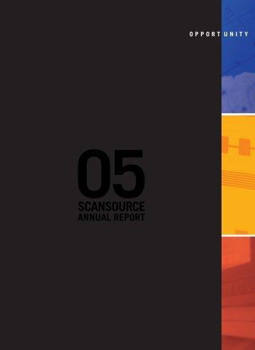2005-AnnualReport-forweb - ScanSource