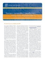 IFRS : Guide des retardataires - Normes d'information financière et ...