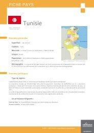 fiche Tunisie - ILE-DE-FRANCE INTERNATIONAL
