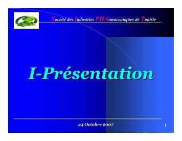 Société des Industries PHArmaceutiques de Tunisie - Tustex