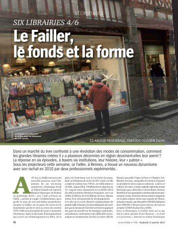 Librairie le Failler - UCO Laval