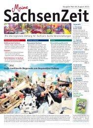 Schlösserland Sachsen - Veranstaltungslandschaften