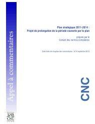 Plan stratégique 2011-2014 - Normes d'information financière et de ...