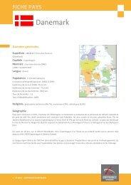 fiche pays Danemark - Veille info tourisme