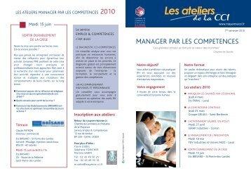 Programme ateliers 2010.pdf - (CCI) de la Mayenne