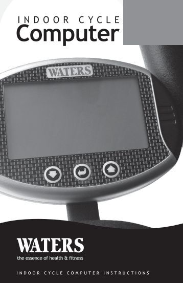 IndoorCycleComputer - Waters Fitness
