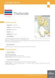 fiche Thailande - ILE-DE-FRANCE INTERNATIONAL