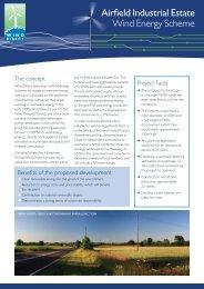 Wind Energy Scheme Information Sheet - Wind Direct