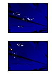 VERAの現状と今後の方針 の現状と今後の方針 - 国立天文台