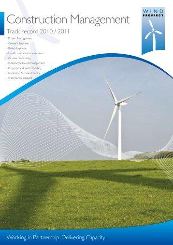 Construction Management - Wind Prospect