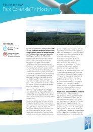 Parc Éolien de Tir Mostyn - Wind Prospect