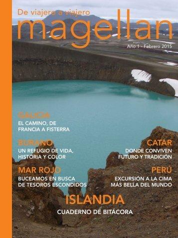 Revista de viajes Magellan - Febrero 2015